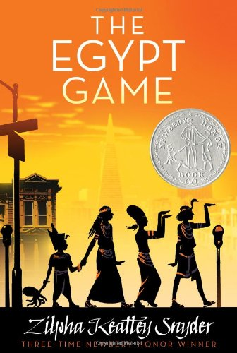 Jisu - The Egypt Game(Atheneum Books for Young Readers) by Zilpha Keatlley Snyder, illustrated by Alton Raible