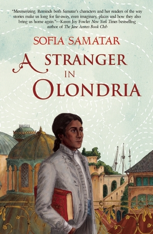 Sophia: A Stranger In Olondria - by Sofia Samatar (Small Beer Press)This novel musters all the imaginative force of the fantasy genre to explore migration (geographic and cultural) under the sway of empire. It's a beautifully written speculation on how different cultures encounter, absorb, and clash with one another.