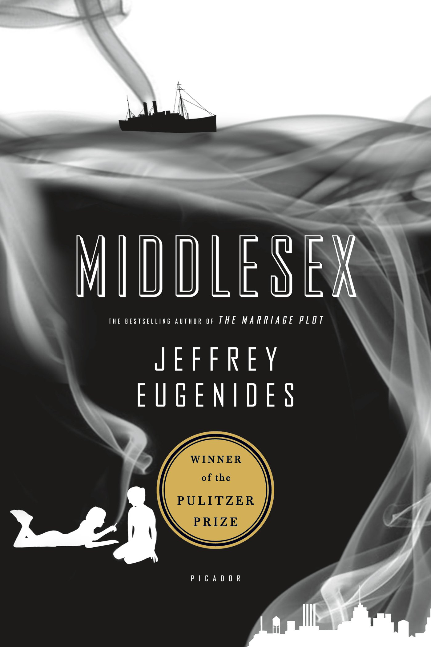 Suki: Middlesex - by Jeffrey Eugenides (Picador)A richly detailed story that follows the life of an intersex man and three generations of his Greek-American family.