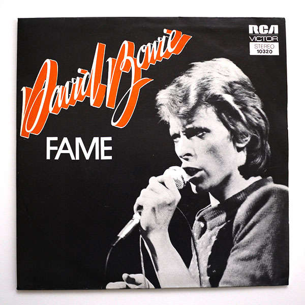 Hannah: Fame by David Bowie - I'll leave it to Bowie himself: