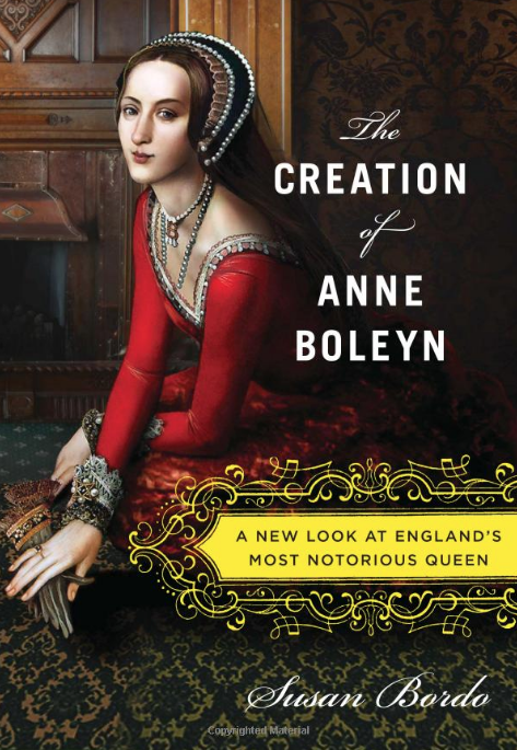 Crystal:The Creation of Anne Boleyn: A New Look at England's Most Notorious Queen by Susan Bordo - I just finished reading Susan Bordo's The Creation of Anne Boleyn.Bordo explores the sources and implications of Anne Boleyn's afterlife as the most famous of Henry VIII's six wives, and how people have reimagined her as a martyr, a mean girl, a literal witch, an intellectual, and—most recently—a feminist icon who was born before her time. I'm fascinated by how Anne, and other famously