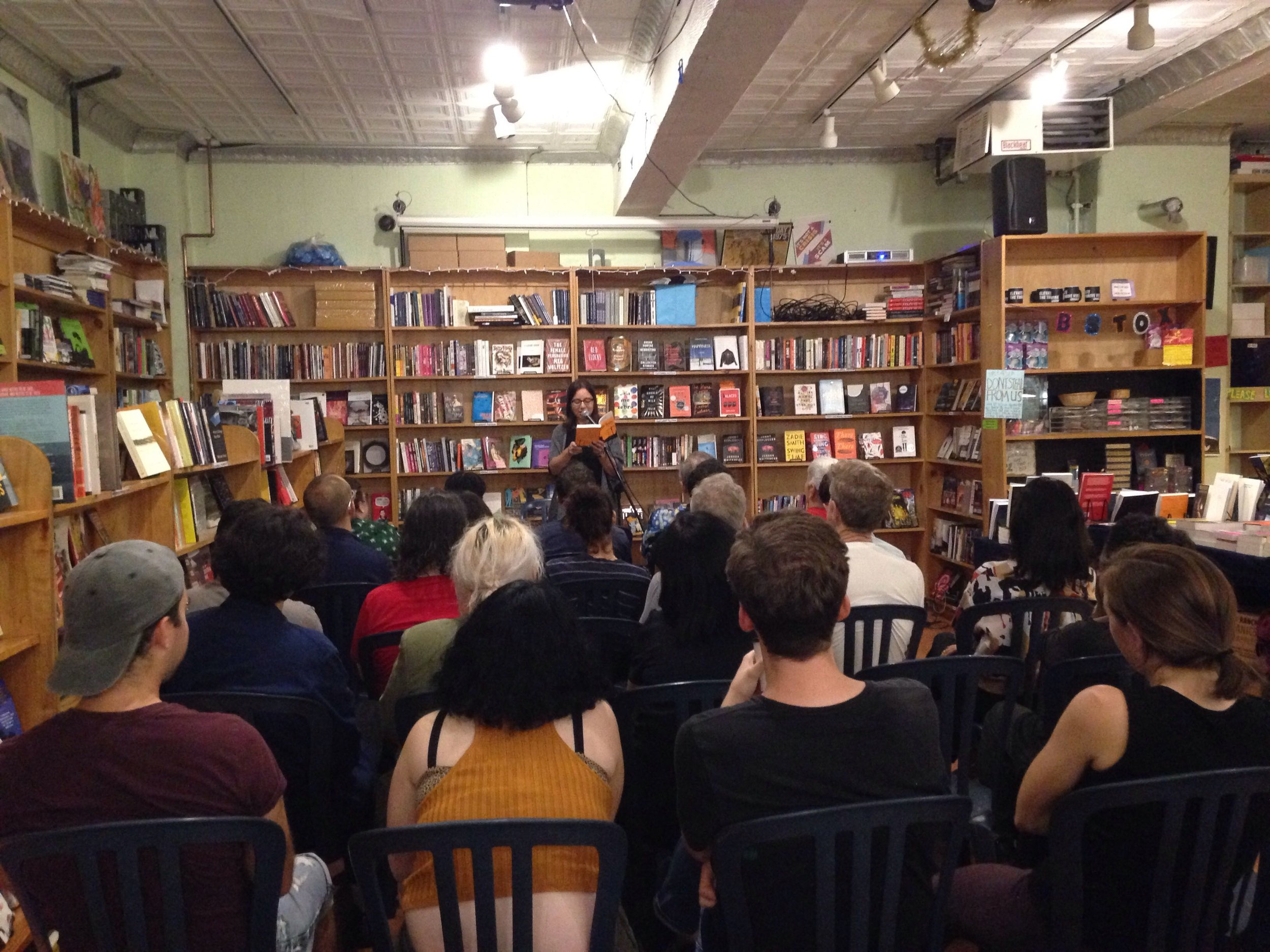 Sarah Schulman reads from  Maggie Terry  at Bluestockings.