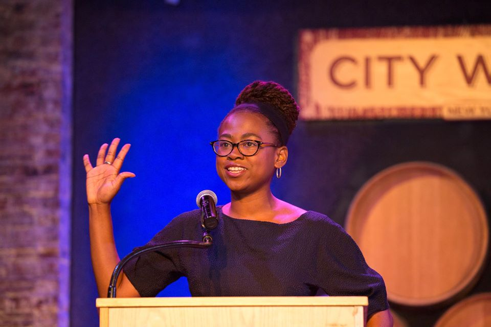 Jamia at the 2018 Feminist Power Awards. Photo: Alexa Hoyer.