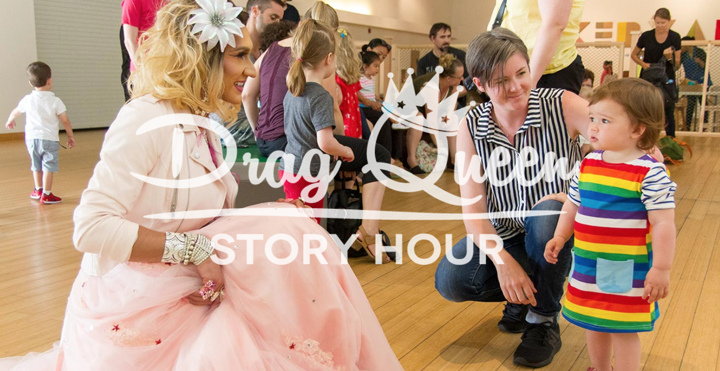 Photo: Drag Queen Story Hour
