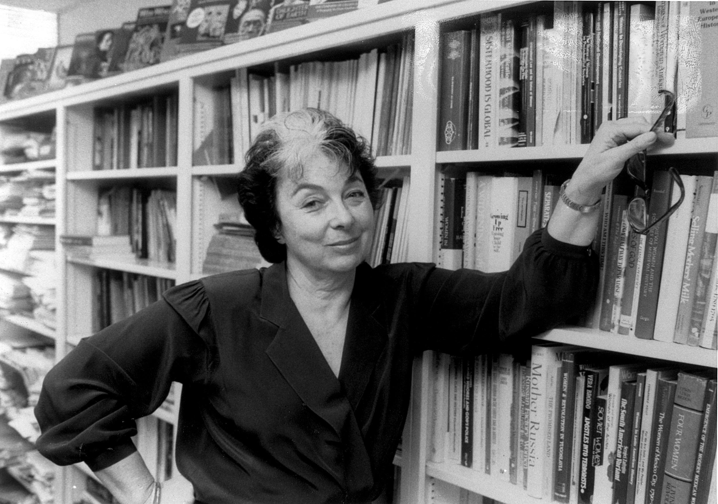 Feminist Press founder Florence Howe.