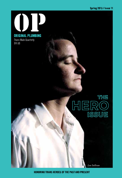 "The Hero Issue - ""Brave enough to be exactly who they are and fearless enough to take a stand for what they believe in, all of the people in this issue are [our] heroes."" —Editors' noteWhy I love it: From Kate Bornstein to Janet Mock, I'm inspired by the legends who shift culture and create change—big and small. The Hero Issue honors exactly that.Part that stuck with me: Kate Bornstein has such brilliant and wise insights into life, politics, and social movements, and she carries her opinions with such love and joy for her communities."