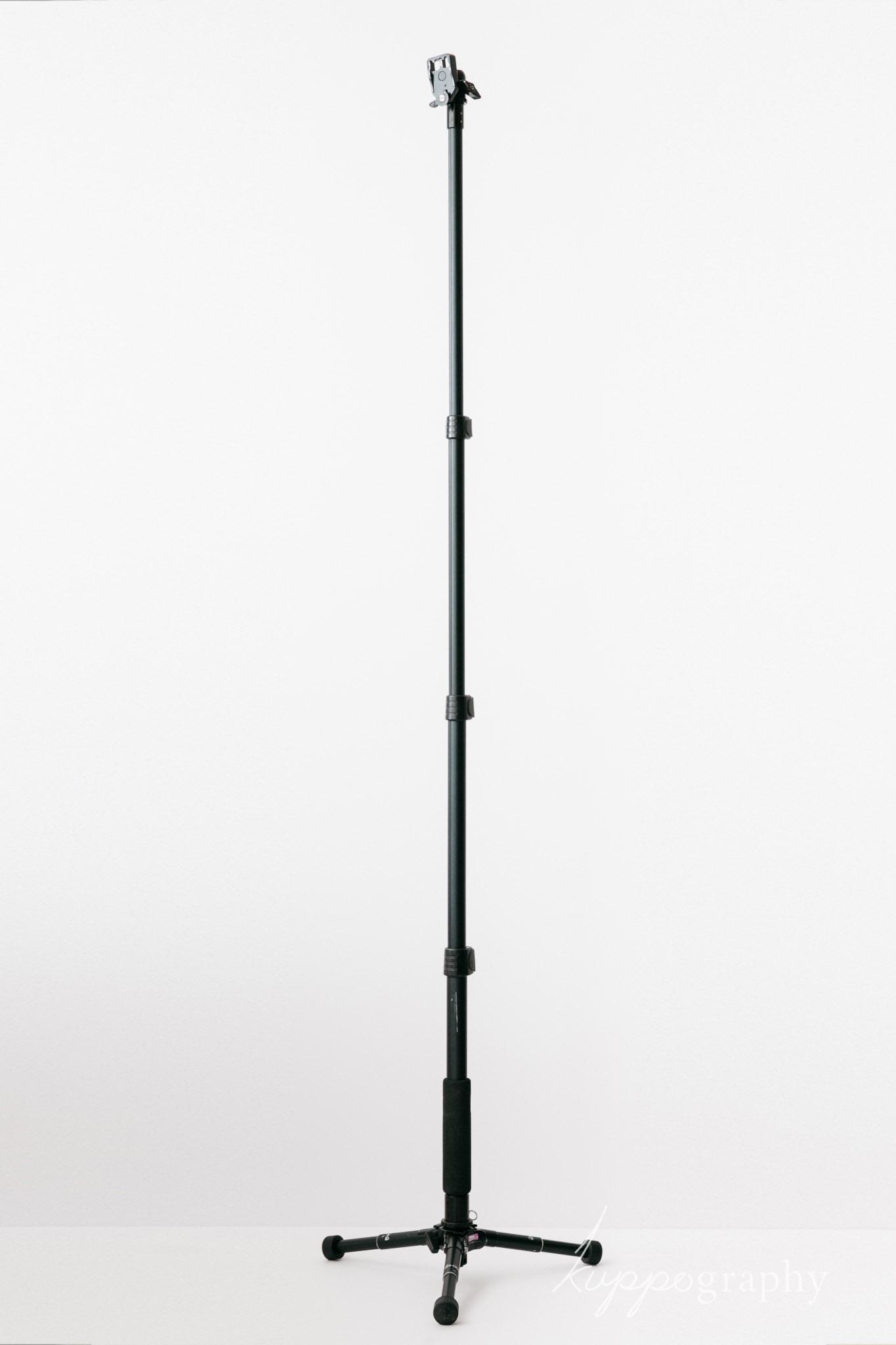 最大に伸ばして166cm