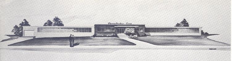 Danelectro Corporation - Neptune, New Jersey USA. Architect's Drawing