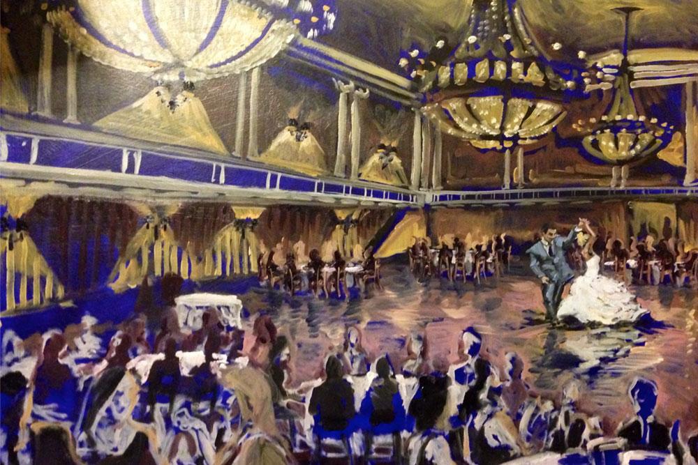 Golden Ballroom at the Statler Towers, Buffalo NY