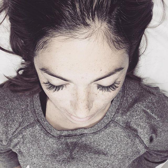 Loving the fullness of these lashes 🤗 #lashesbyme #lashesbylindamyer #repost