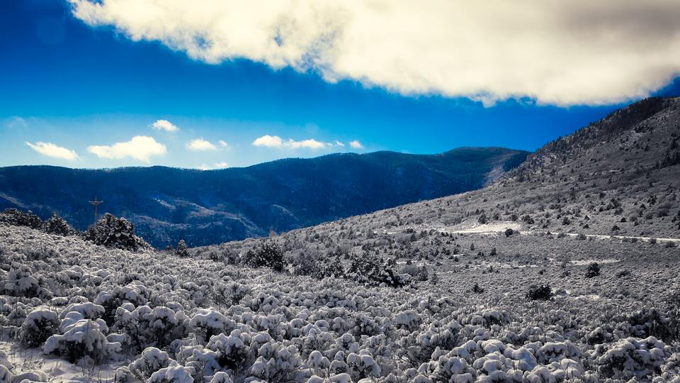 Thompson Divide near Carbondale Colorado