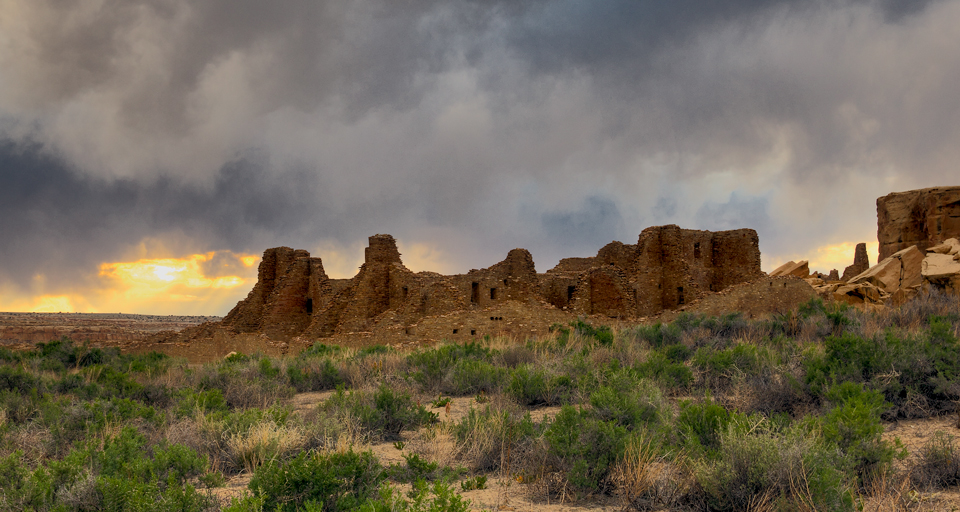 Pueblo Bonito, Chaco Canyon New Mexico