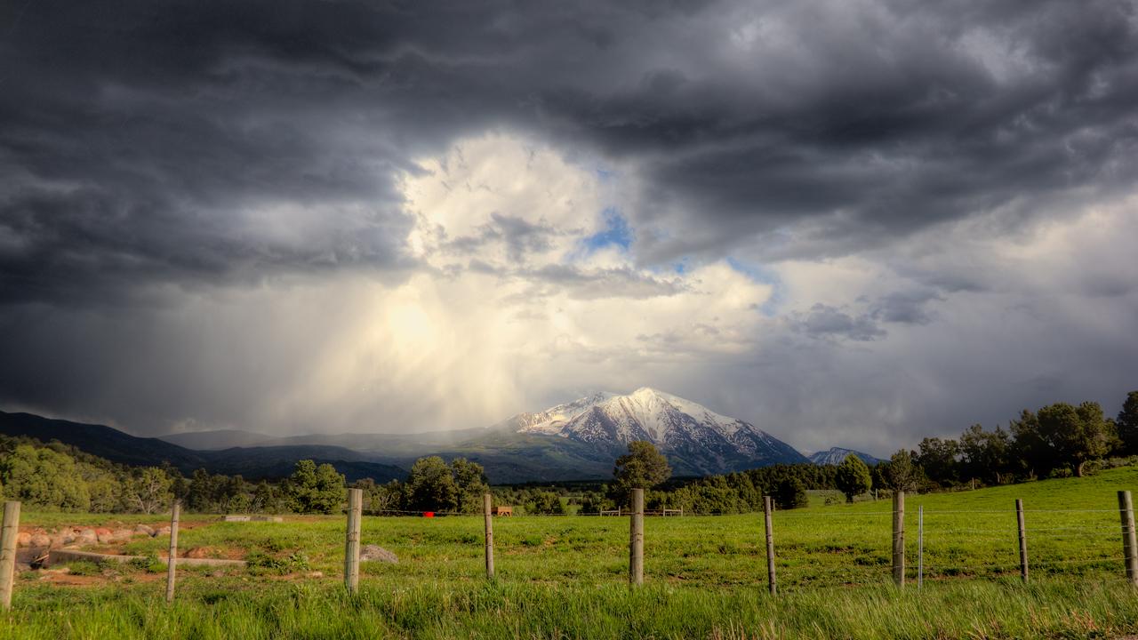 Mt Sopris, Carbondale Colorado