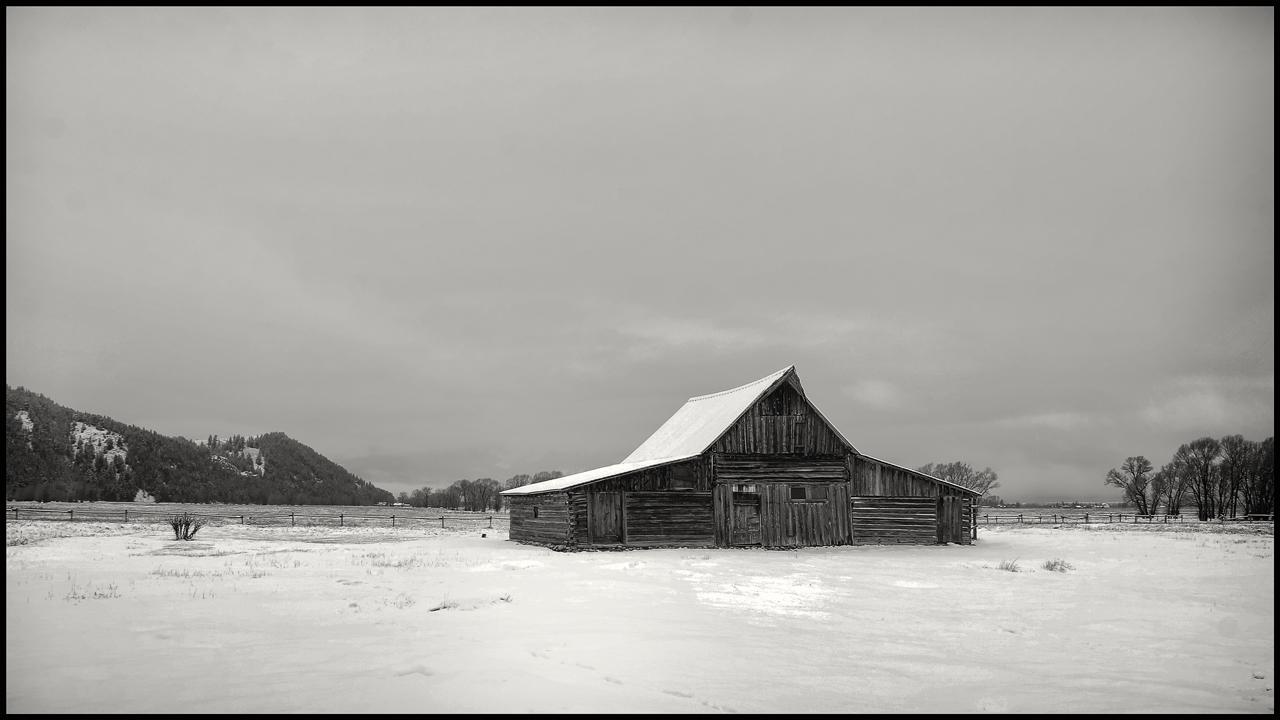 Mormon Barn, Jackson Wyoming