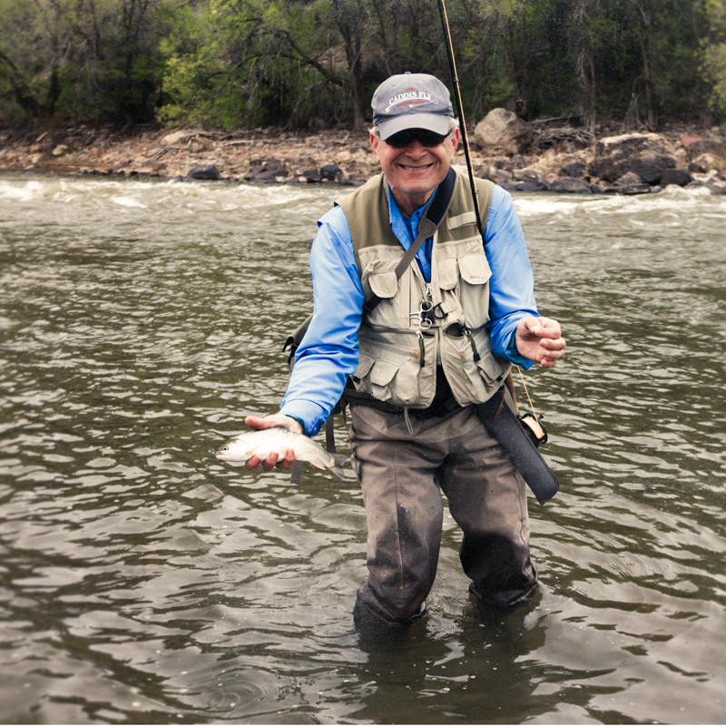Joe P. from Oregon had an epic week chasing trout on Colorado's gold medal trout rivers. From pods of #18 Baetis sippers, predacious monsters smashing large articulated streamers and Czech nymphing tungsten bead jigs, Joe did it all!