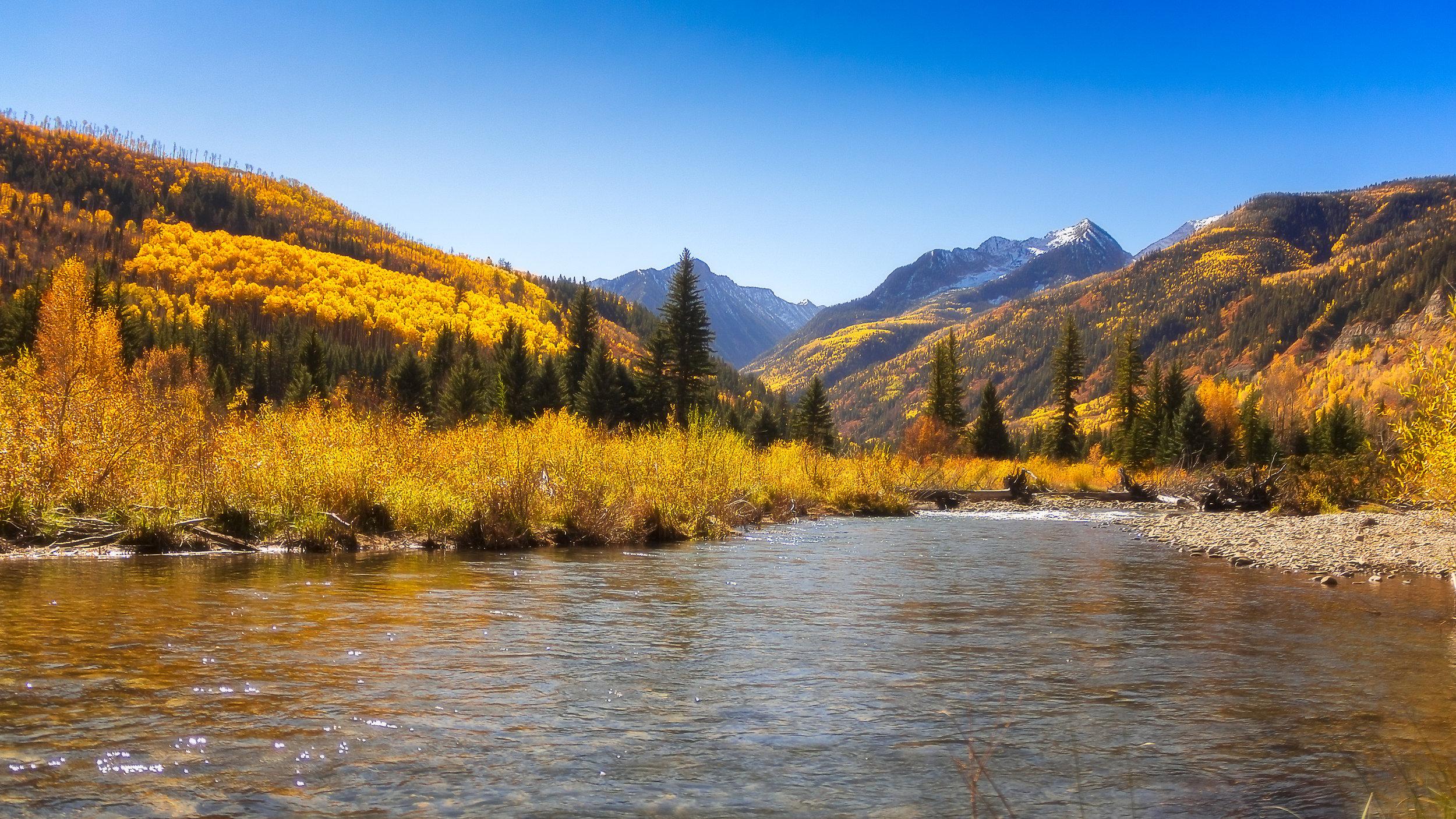 Crystal River Autumn