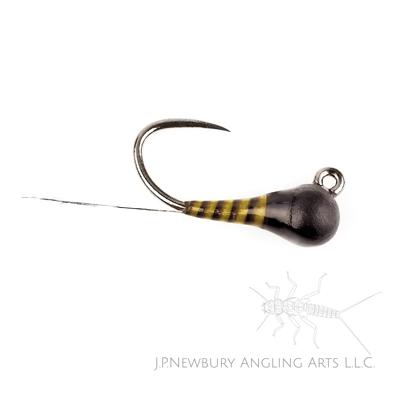 A tied in the round style micro jig #18.