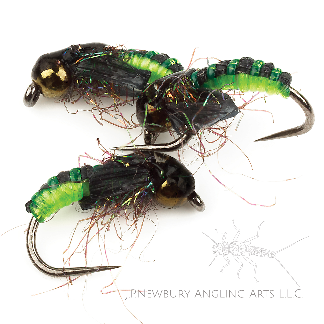 Little Green Caddis Pupa