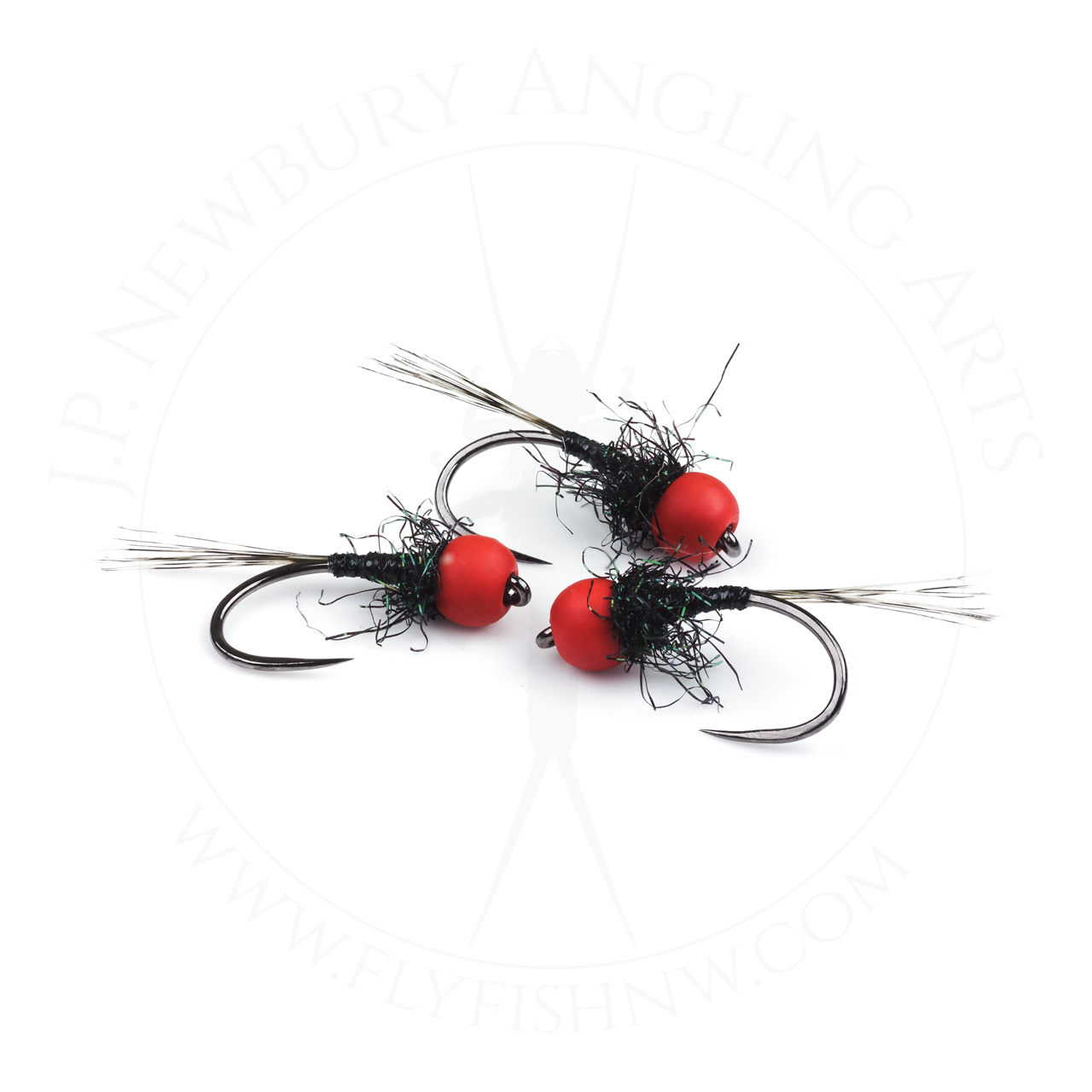 Red & Black Spectra Nymph