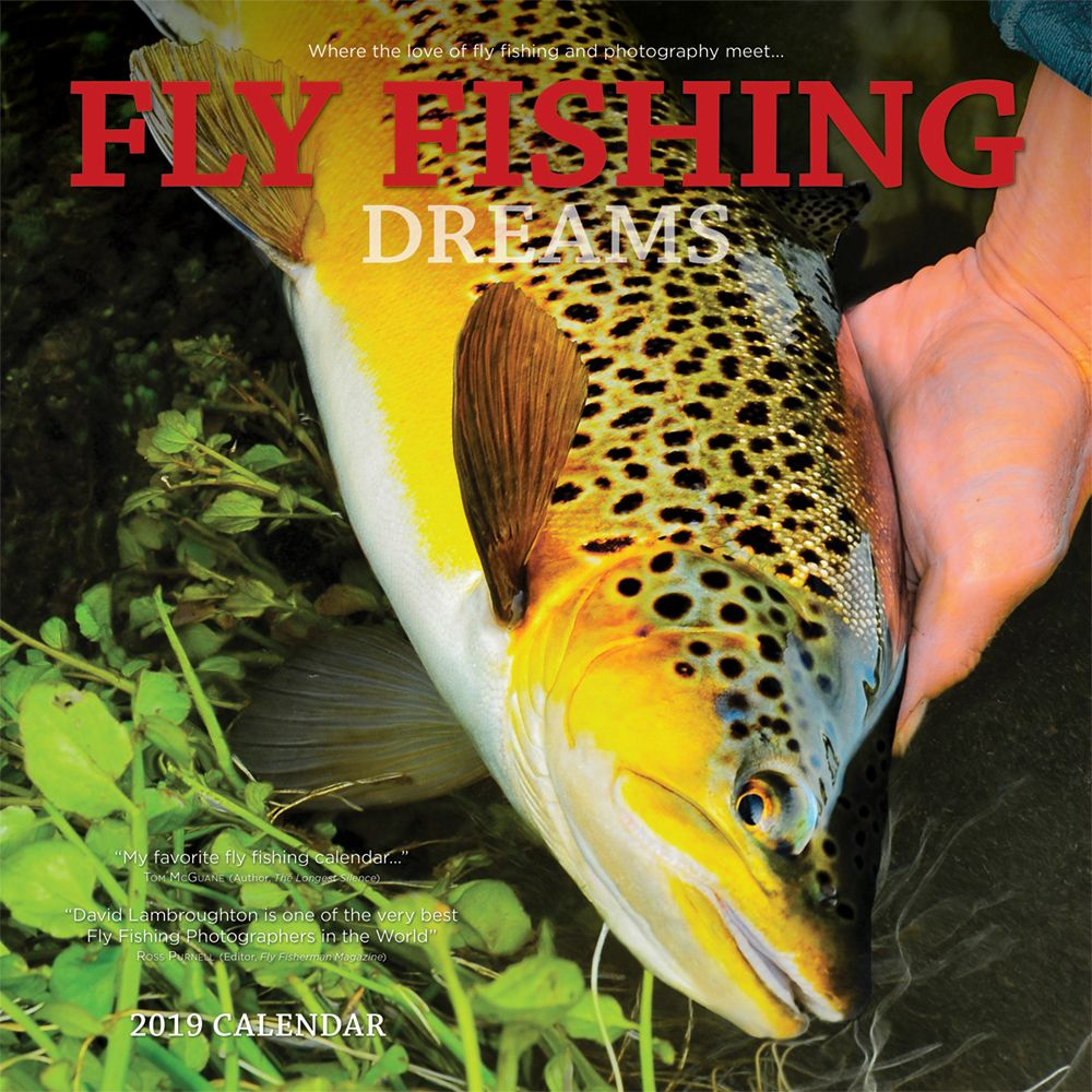 My flies appear in every month in 2019  Fly Fishing Dreams . 2018, I apper
