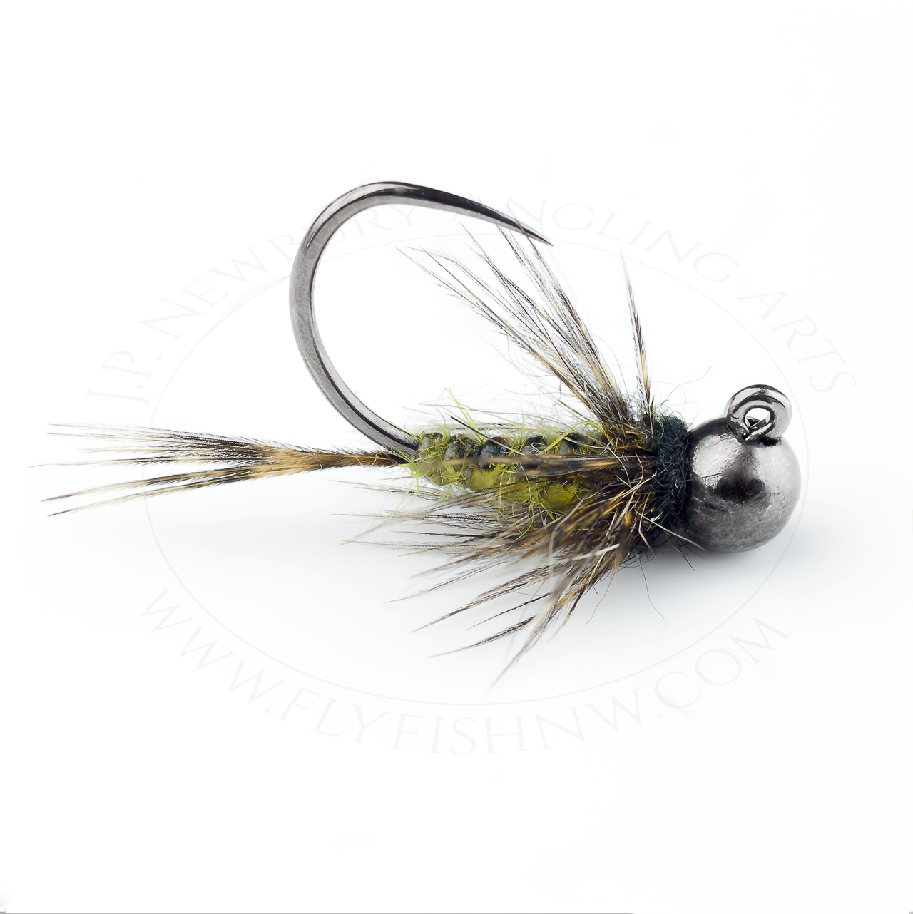 Tying a Body Glass Green Drake