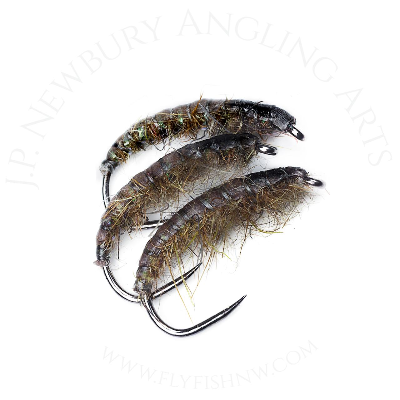 John P. Newbury Tied Snowshoe Rabbit Foot Czech Nymph