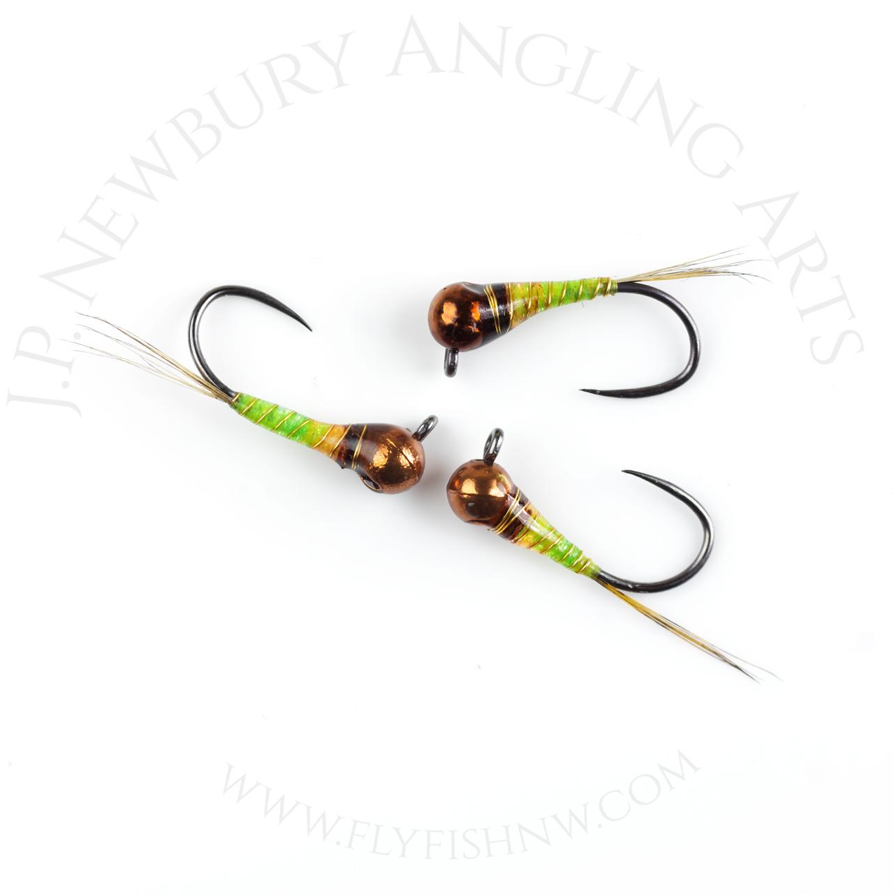 Newburys Riffle Drifter Perdigone - Green Papaya