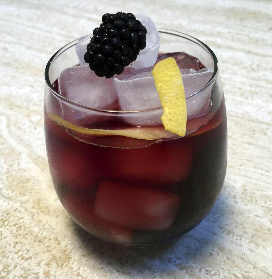 Blackbird Blackberry Cocktail