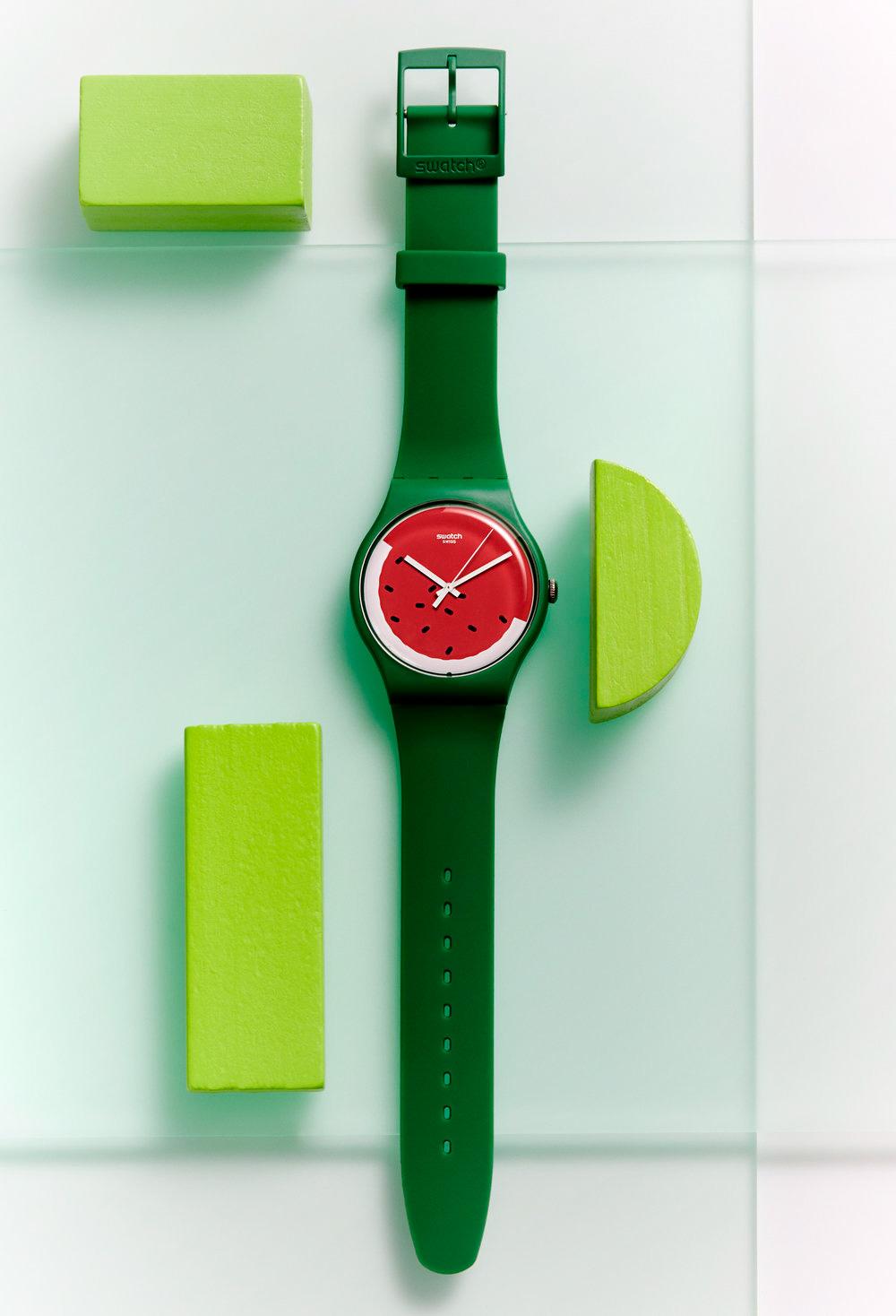 watch watermelon swatch