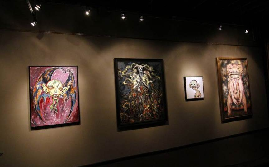 Clive's artwork at Century Guild Fine Art, 2014