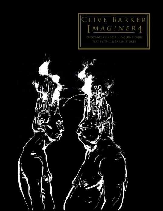 Imaginer 4 (2017) - cover art - Minds At War by Clive Barker