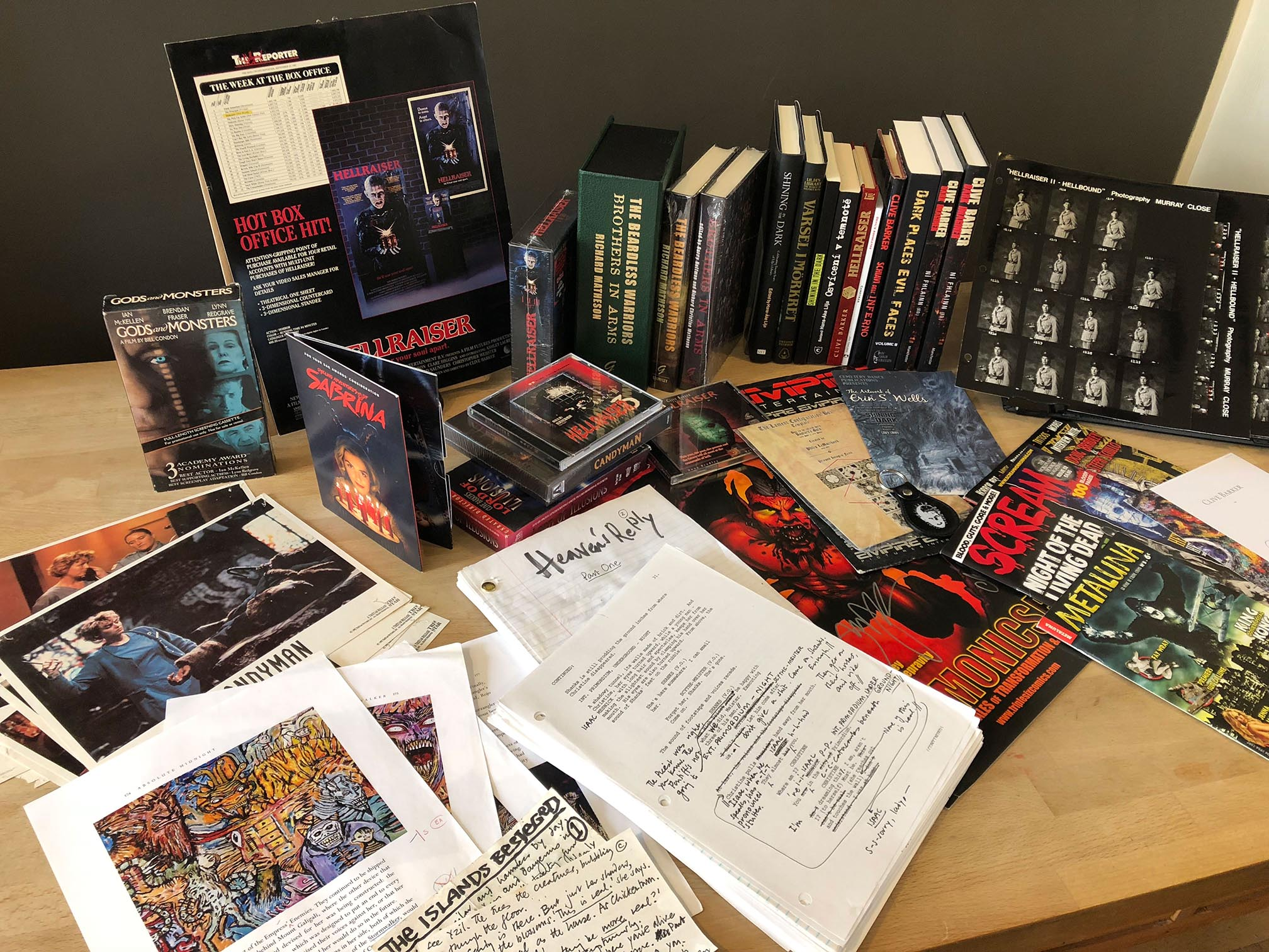 Recent arrivals at the Archive