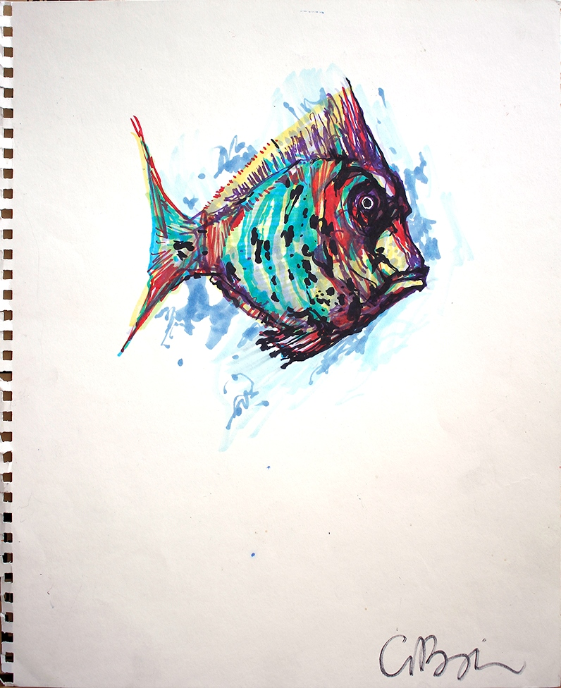 Lost Fish A015    Winning Bid:  $905.00
