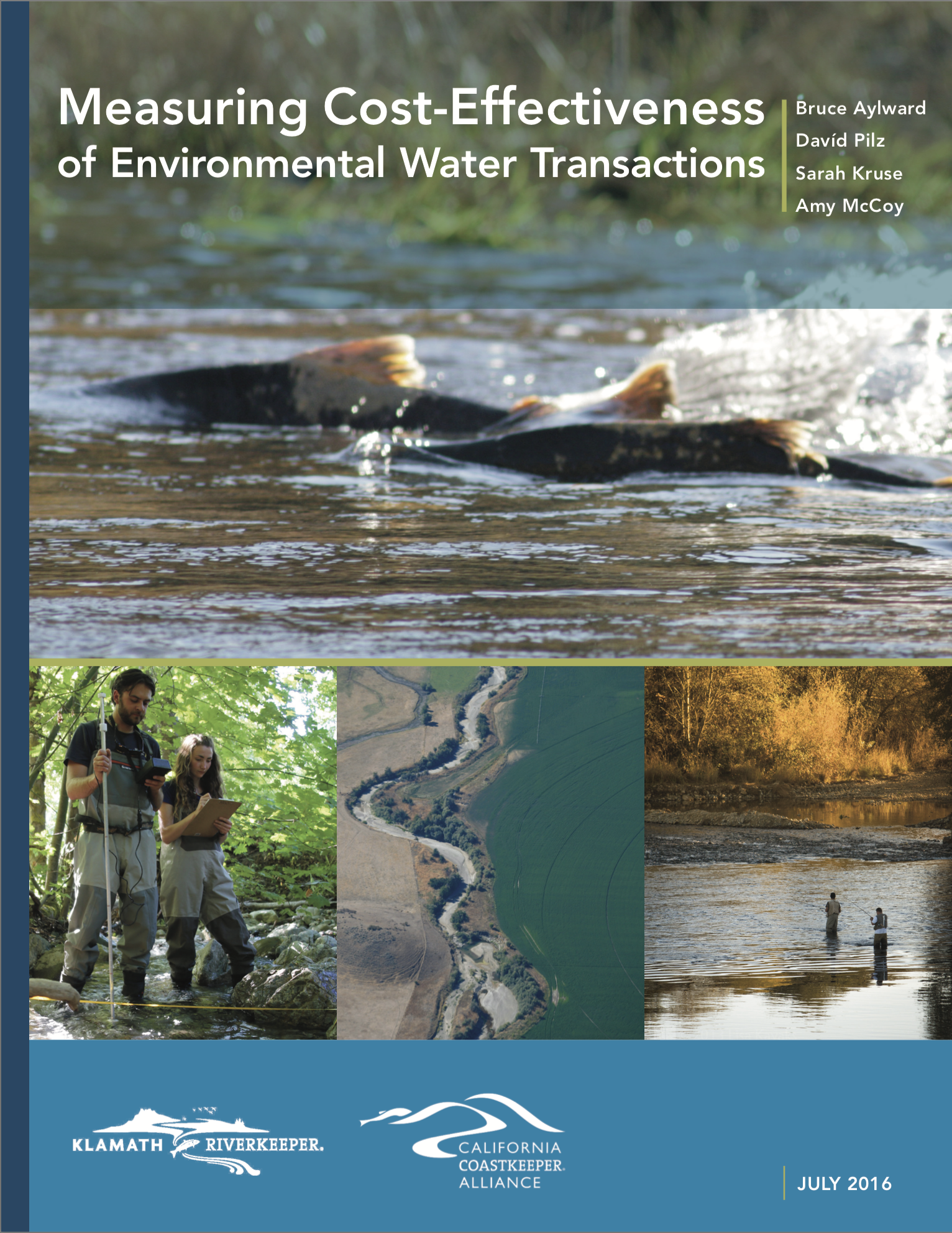 Cost-Effectiveness of Environmental Water Transactions