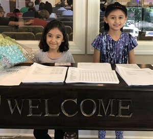 Visit our Welcome Desk at Liberty to see current events and get connected! -