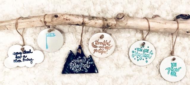 November / December Ornament Designs