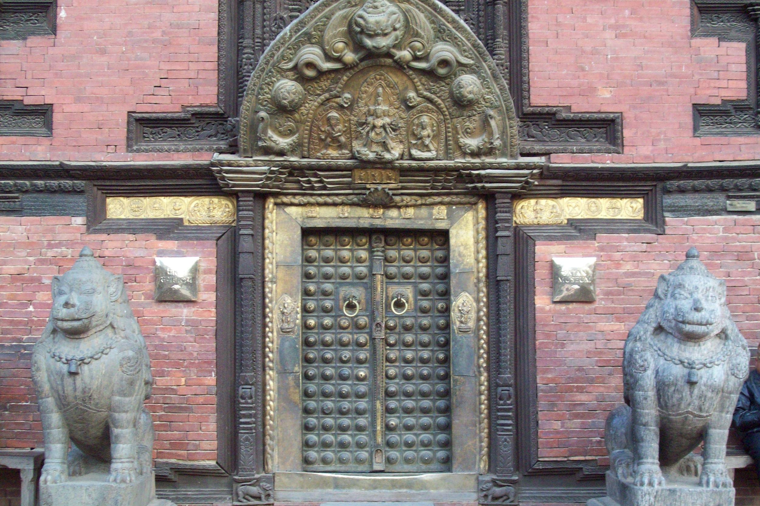 Patan Museum Golden Door
