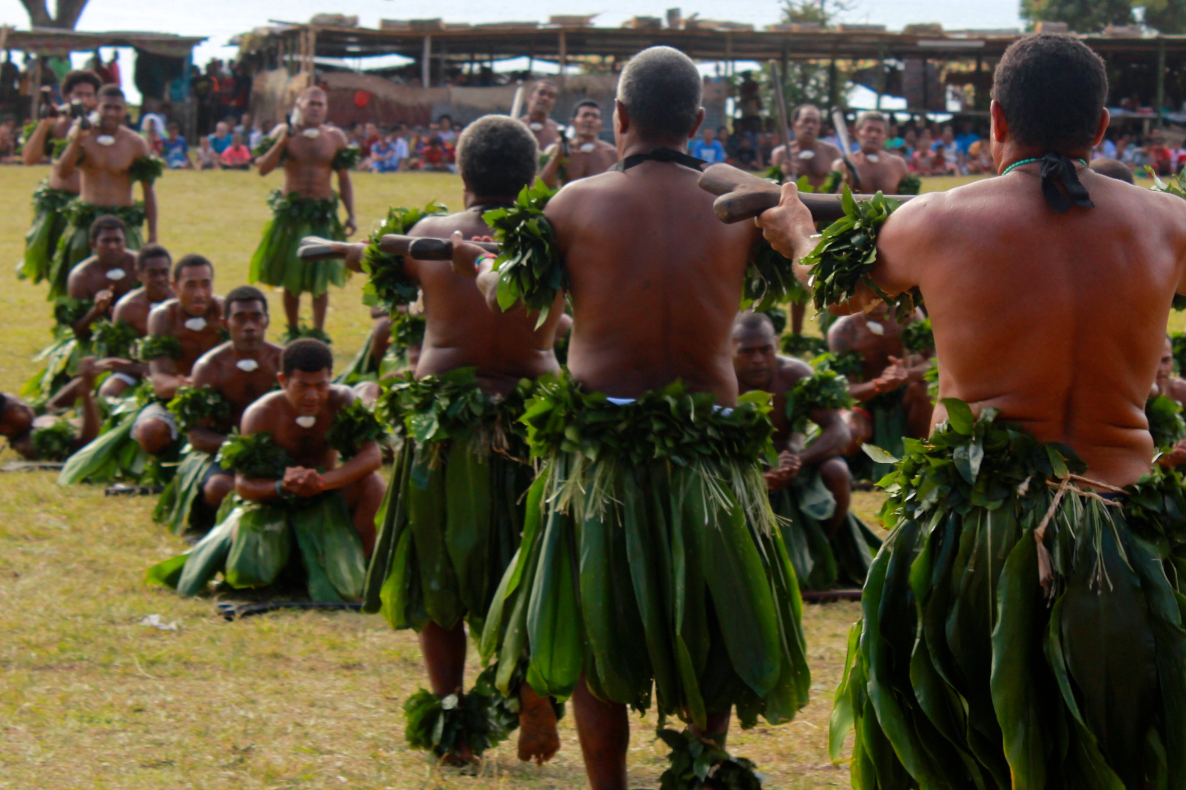 Celebrations in Wairiki, Taveuni, Fiji 2014
