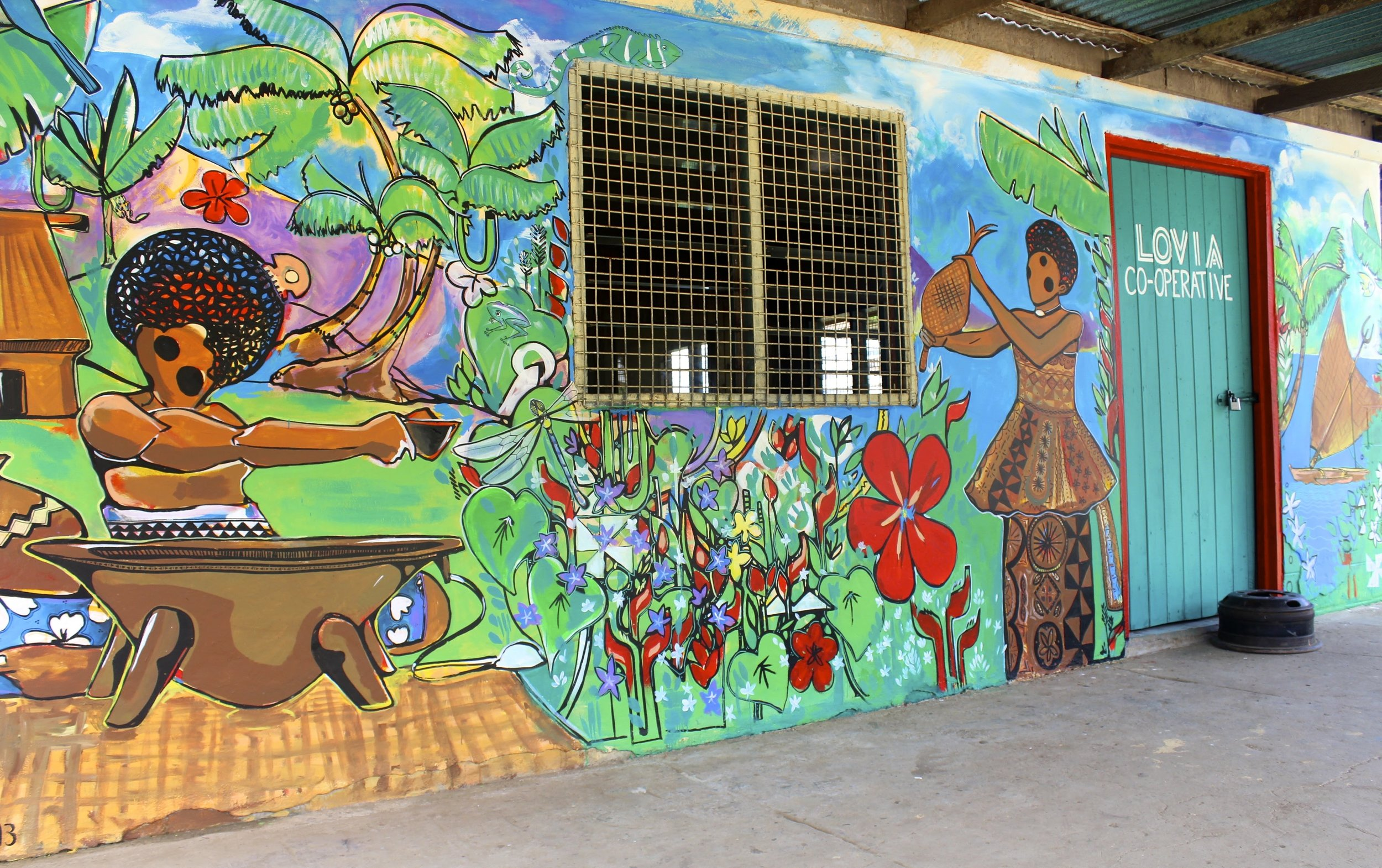 Lovia Co-op Mural