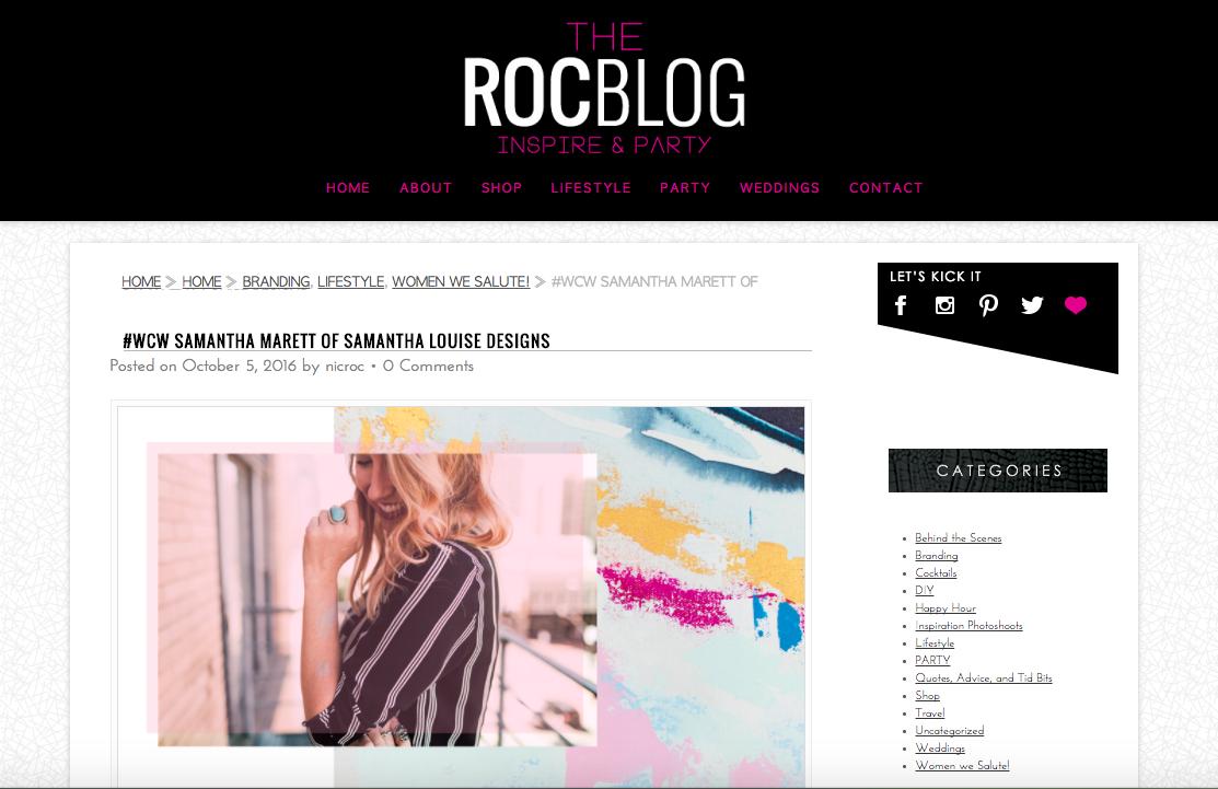 The Roc Blog