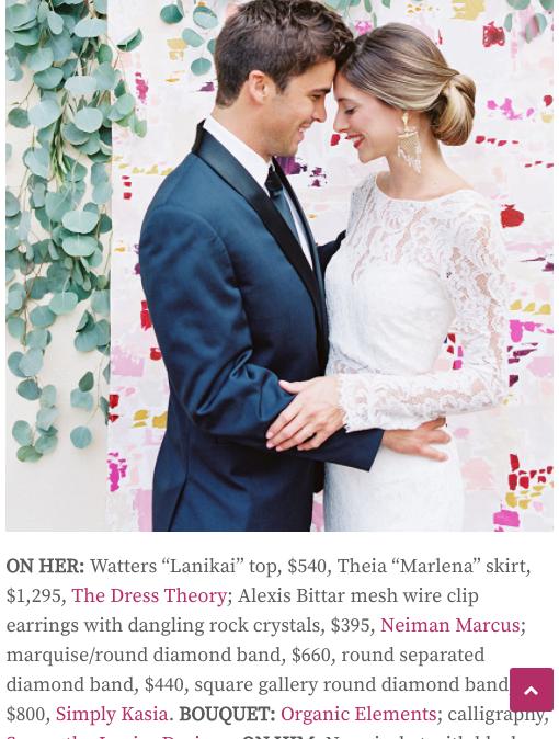 Exquisite Weddings 2016 Gown Shoot