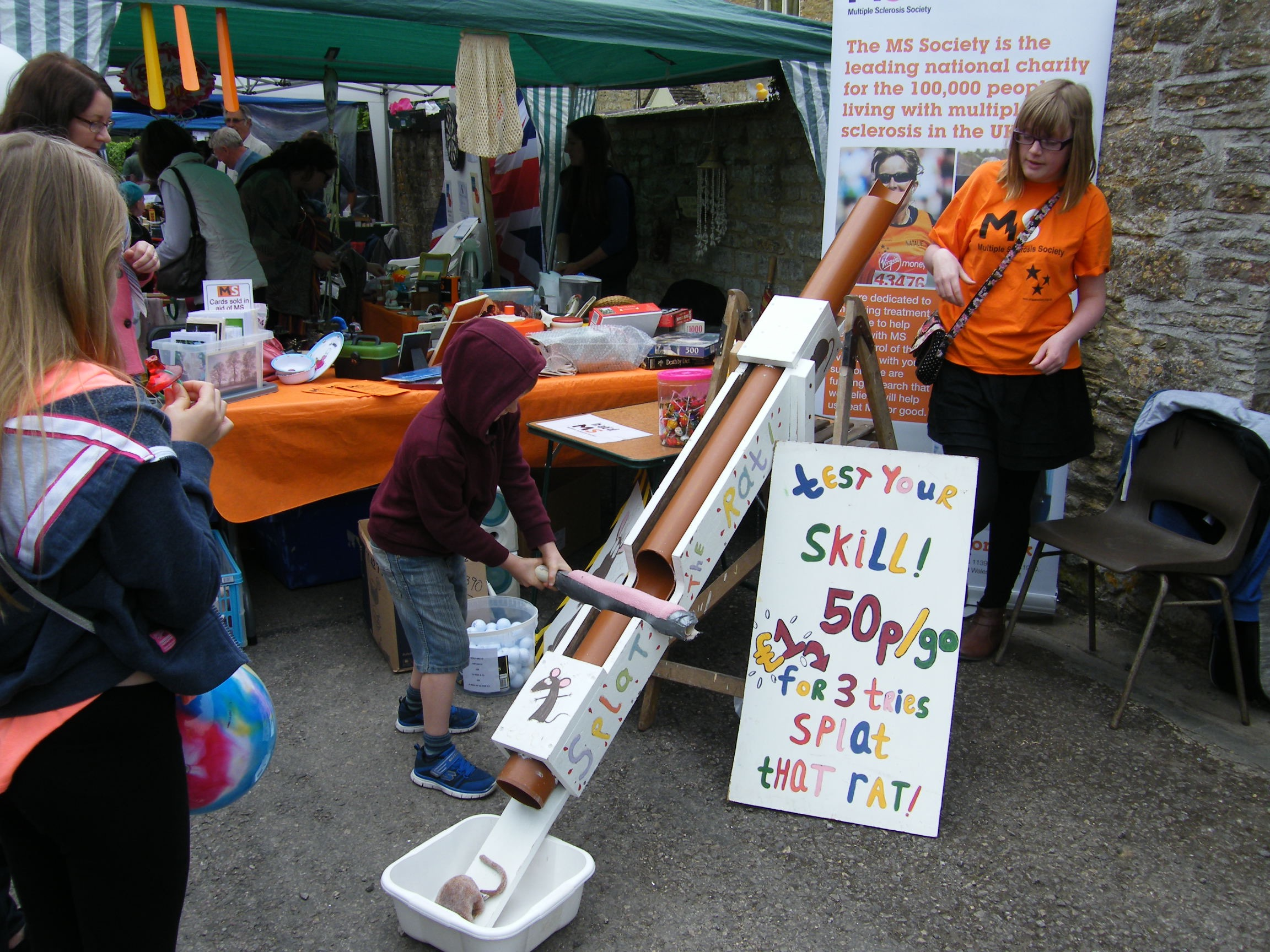 South-Cerney-Street-Fair-Splat-That-Rat