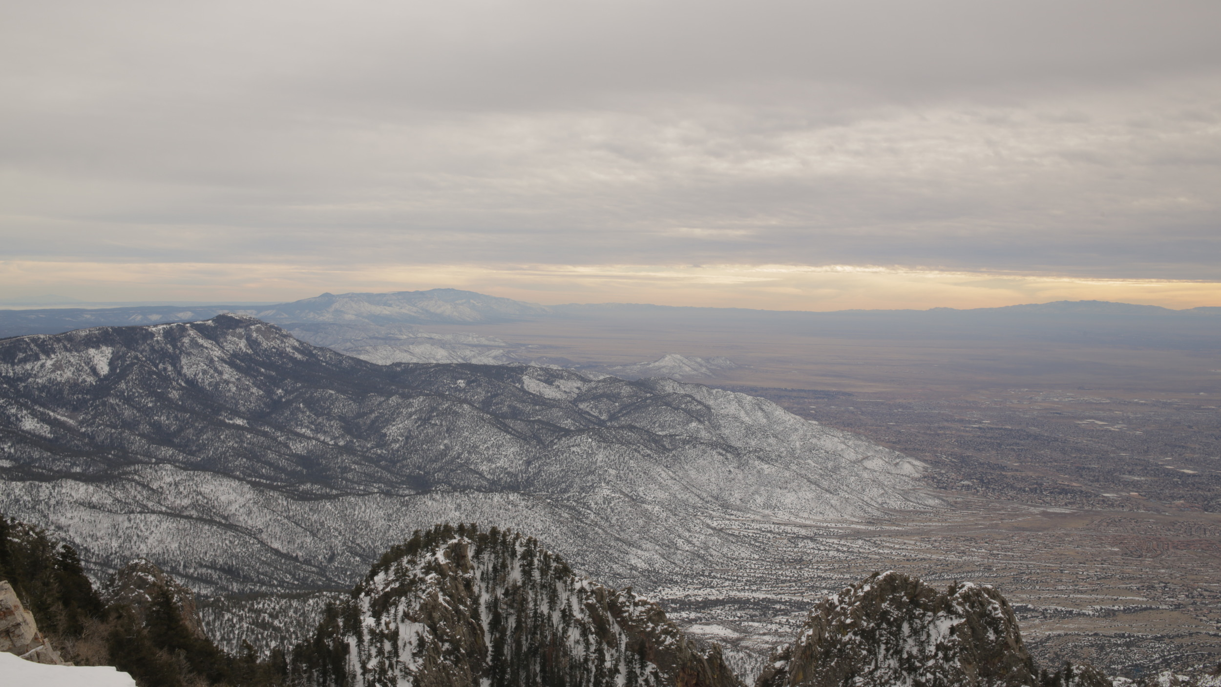Sandia Mountains - Albuquerque, New Mexico