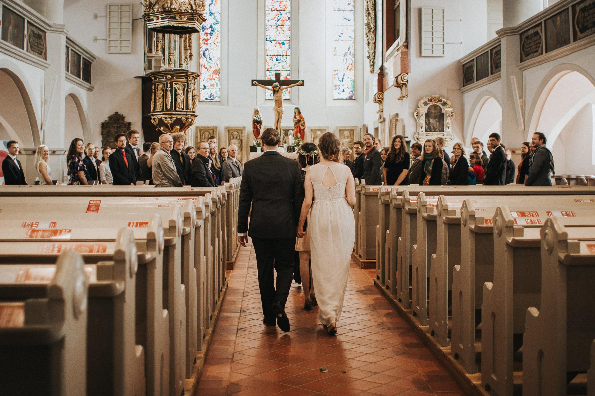 Lutherhaus Eisenach Einzug von Braut und Bräutigam