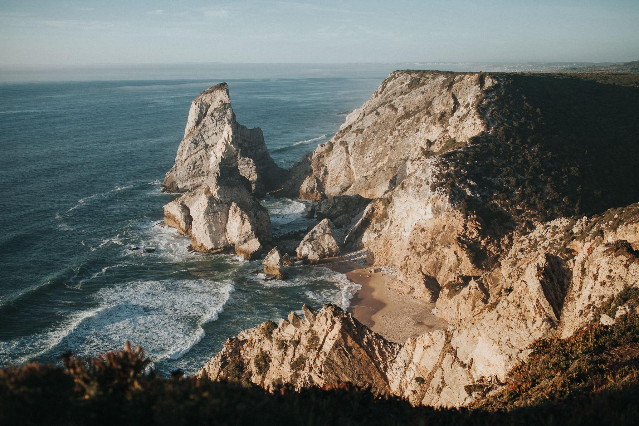 View over Praia da Ursa