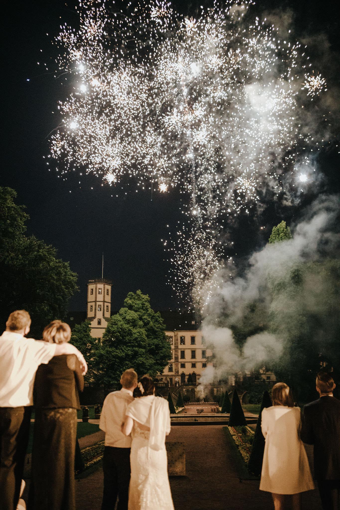 Feuerwerk im Schlosspark Fulda