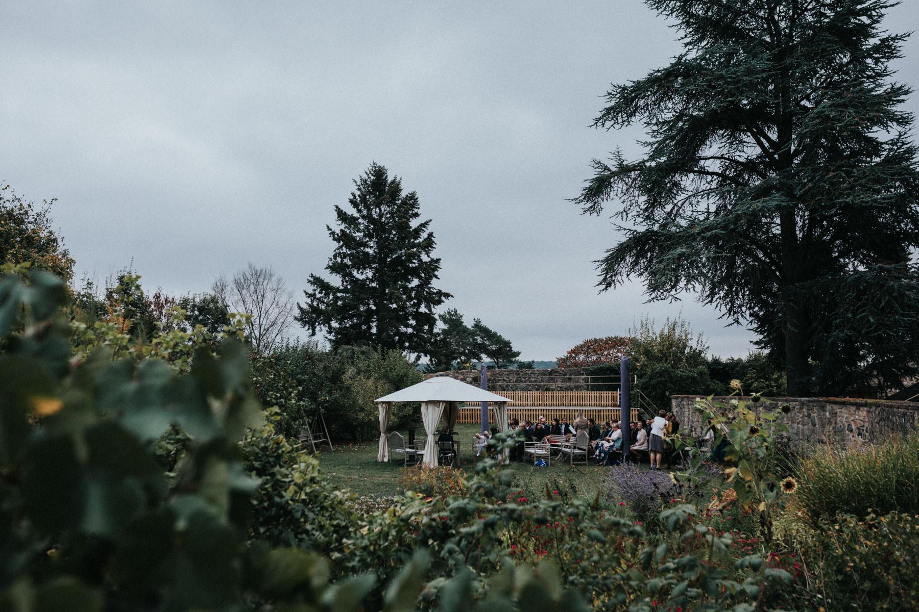 Trauung auf Schloss Homberg