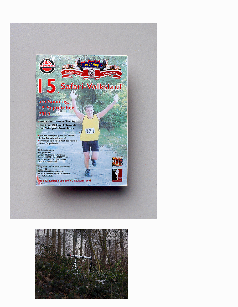Sportfotografie: Broschüre