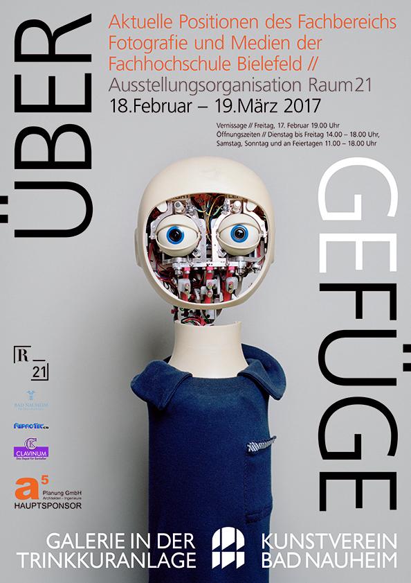 FH Bielefeld, Raum21, Ausstellung, Über Gefüge, Bad Nauheim