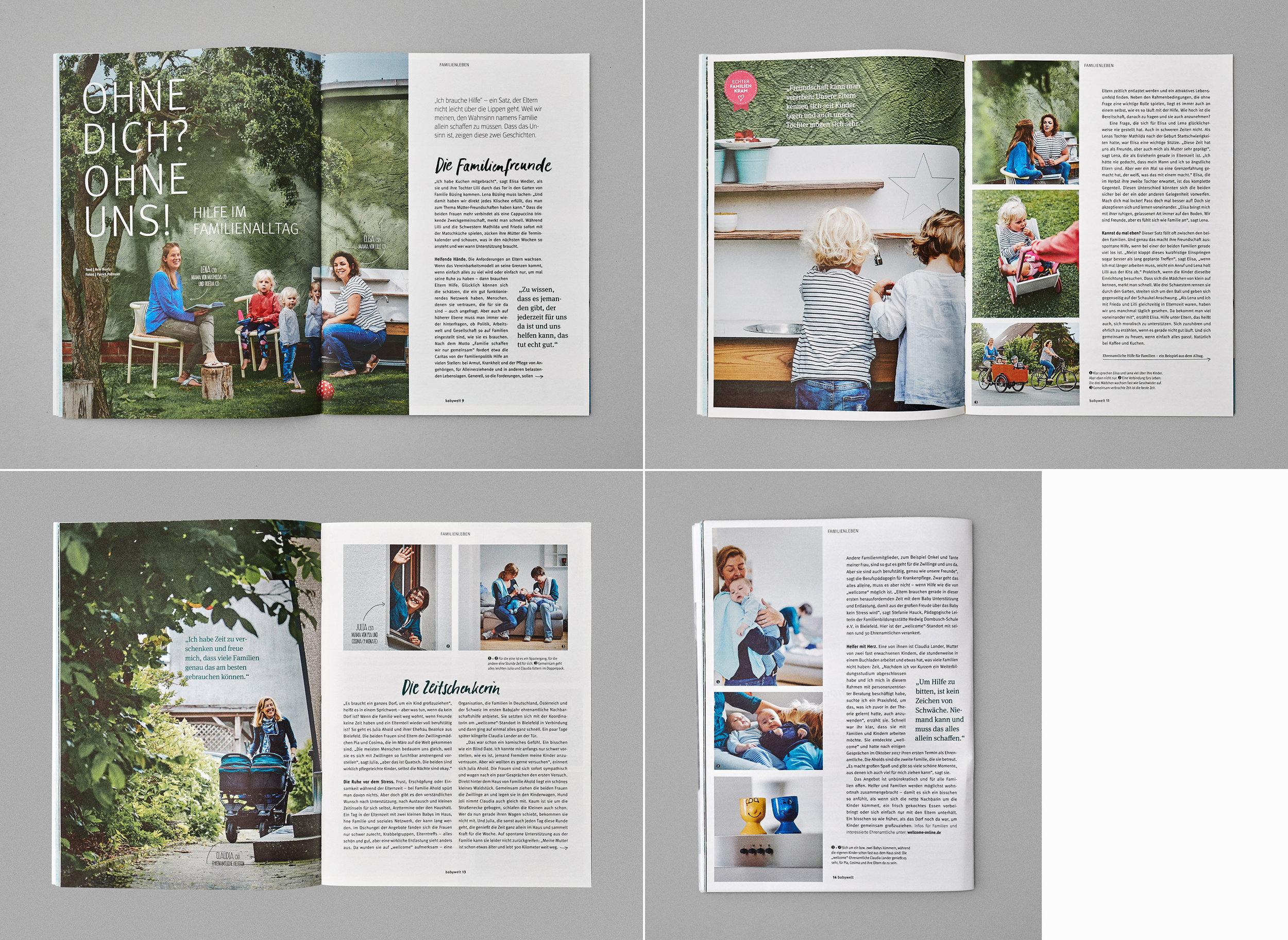 Rossmann, Babyweltmagazin, 2018